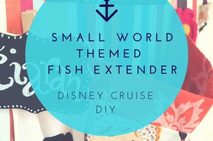 Small World Fish Extender Disney DIY