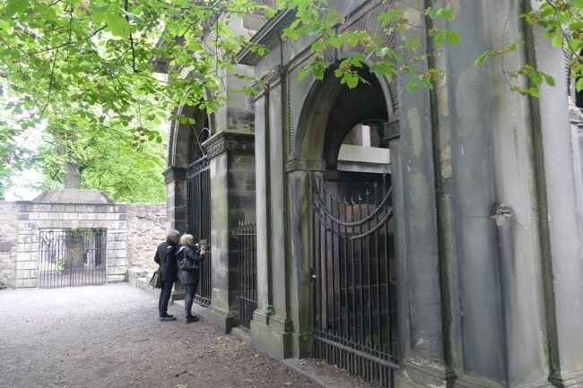 Mausoleums in Greyfriars