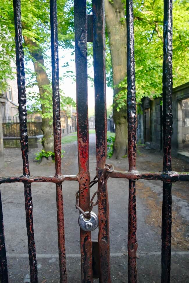 Prisoners Field in Greyfriars