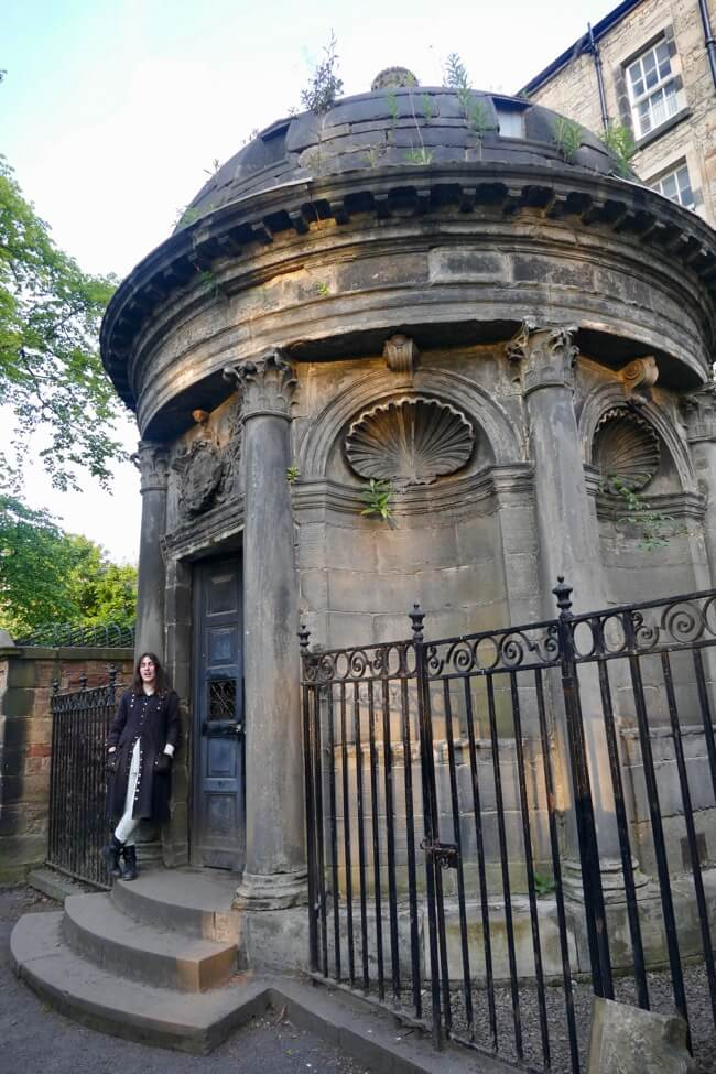 Bluidy Mackenzie Mausoleum in Greyfriars Kirkyard