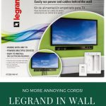 Get Rid of Those Annoying Dangling TV Wires in Under an Hour With Legrand