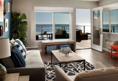 Gorjana & Griffin Designed Pacific Edge Hotel Beach Bungalow Laguna Beach