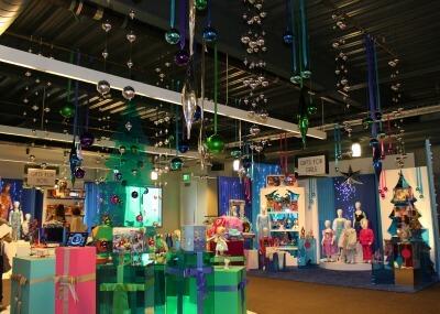 Disney Holiday Showroom