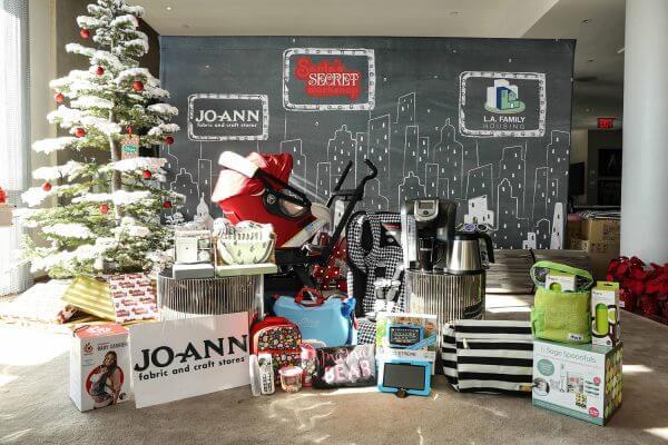 4th Annual Santa's Secret Workshop Benefiting LA Family Housing