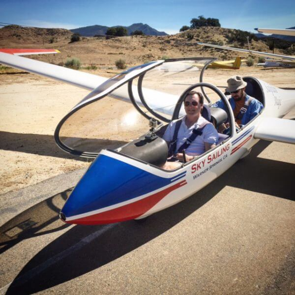Are you brave enough to fly in a glider?
