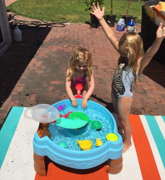 summer, outdoor, littletikes, fishnsplashwatertable,
