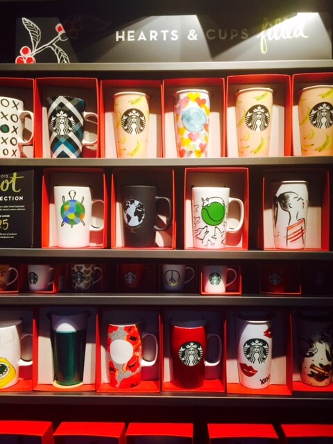 starbucks gift mugs