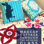 Alice in Wonderland bedding from Madcap Cottage