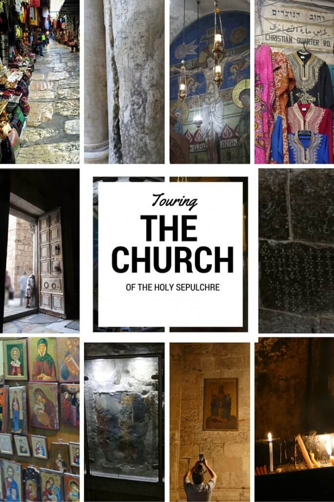 Touring the Church of the Holy Sepulchre in Jerusalem