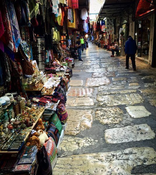 The Souk near the Church of the Holy Sepulchre