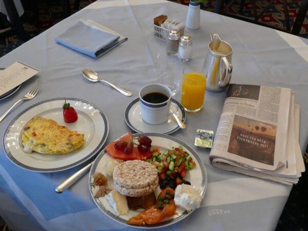 Israeli Breakfast King David Hotel