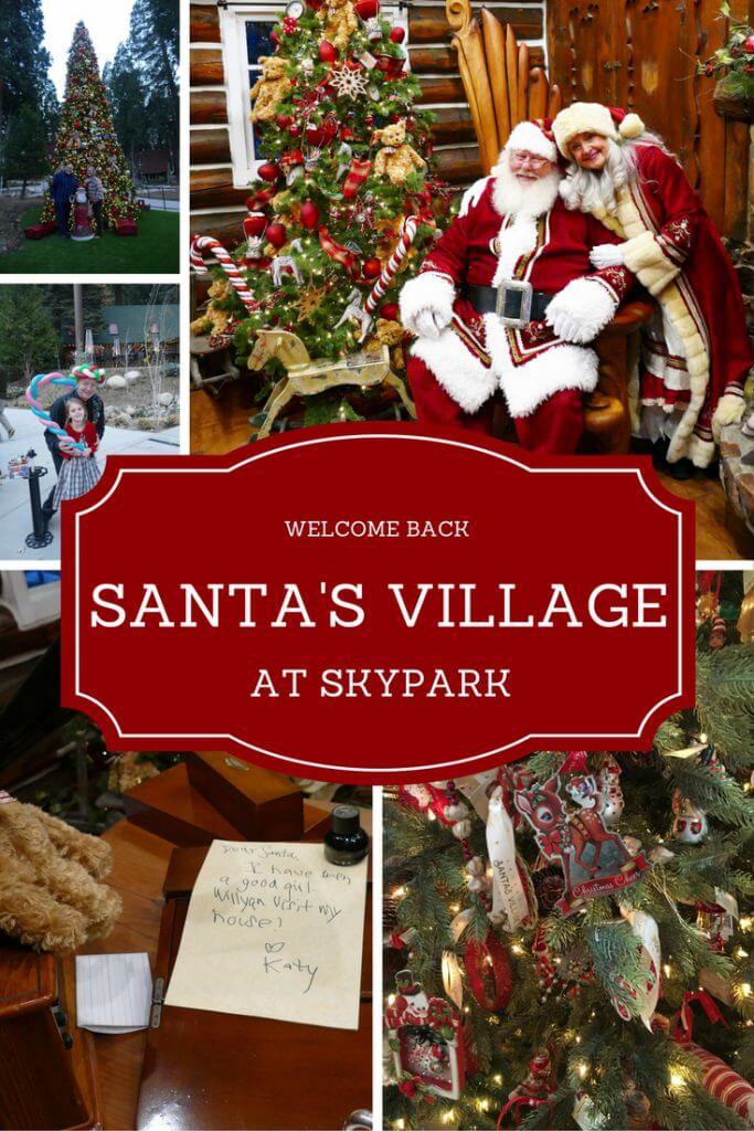 Restaurants Open On Christmas Day 2021 Lake Arrowhead Nostalgic Santa S Village Returns To Lake Arrowhead