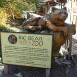 entrance to big bear alpine zoo