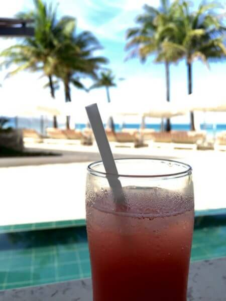Fresh Pressed Watermelon Juice at Discovery Shores Boracay
