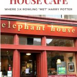 Dining at the Elephant House Cafe