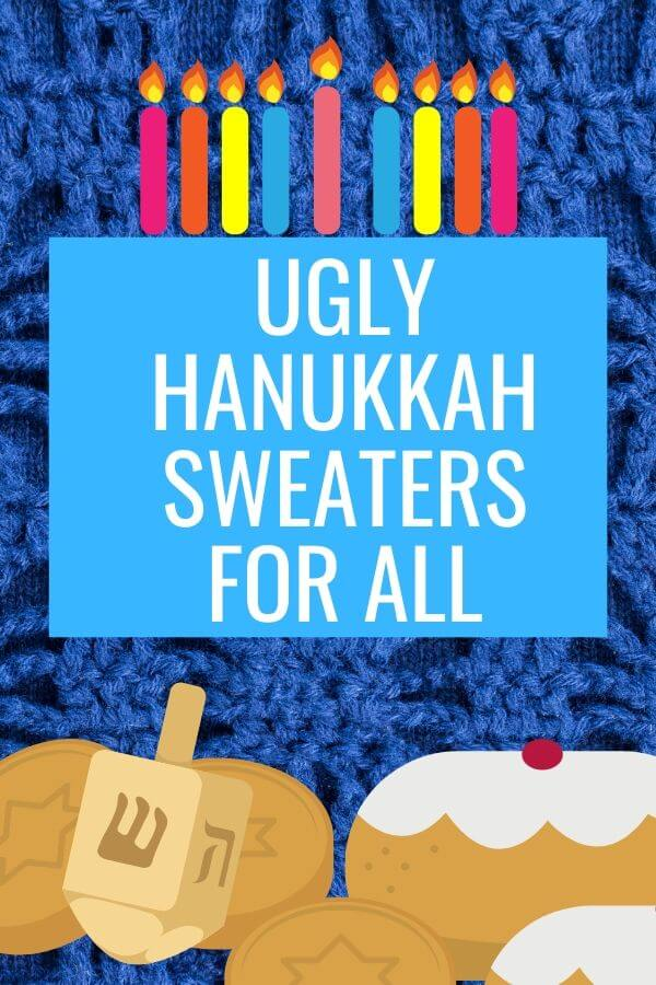 Ugly Jewish Christmas Sweaters