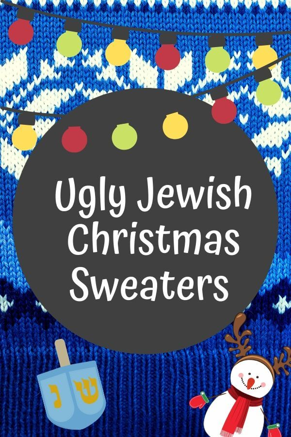 Ugly Hanukkah Sweater Round Up