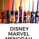 Disney Marvel Menorah DIY