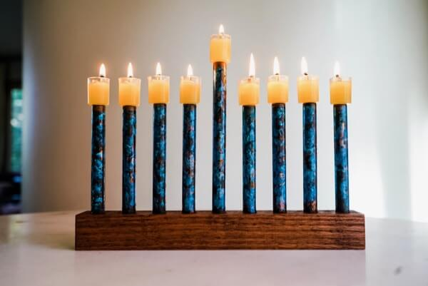 How to Make an Oil Menorah